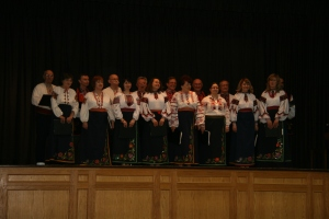 Ukrainian dancing in Edmonton